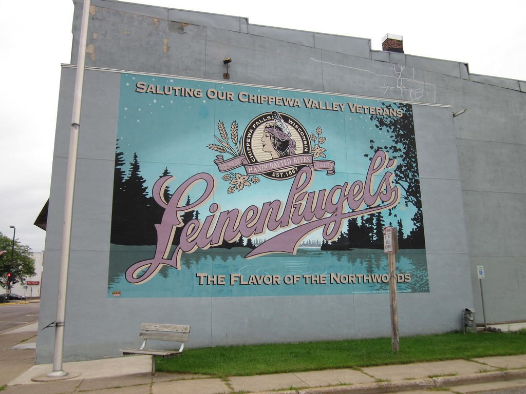 Locals and visitors alike love stopping by Leinenkugel's for a sample of their favorite brew.